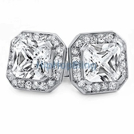 Iced Princess CZ Micro Pave Bling Bling Earrings