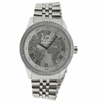 IceTime Continental .10ct Diamond Hip Hop Watch