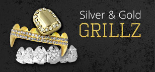 Silver and Gold Grillz
