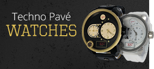 Techno Pave Watches
