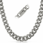 Miami Cuban 13MM Stainless Steel Chain Box Clasp