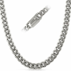 Miami Cuban 9MM Stainless Steel Chain Box Clasp