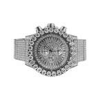 Monster Bling CZ Stainless Steel iced Out Watch
