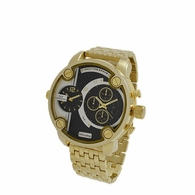 NY London Bold Dual Sports Gold Watch