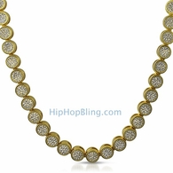 Pave Gold Bling Bling Chain