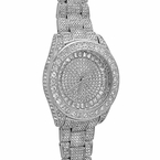 Platinum Custom Bling Bling Watch 41MM