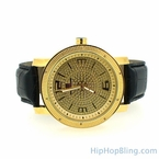 Real Diamonds Super Techno Watch Gold