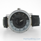Roman Super Techno Hip Hop Diamond Watch