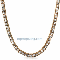 Rose 1 Row Bling Bling Chain