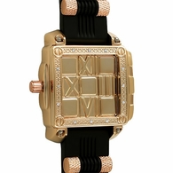Rose Gold Slide Out Fashion Hip Hop Watch
