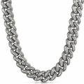 .925 Sterling Silver CZ Chains
