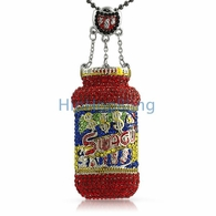 Swagu Custom Bottle Hip Hop Bling Pendant