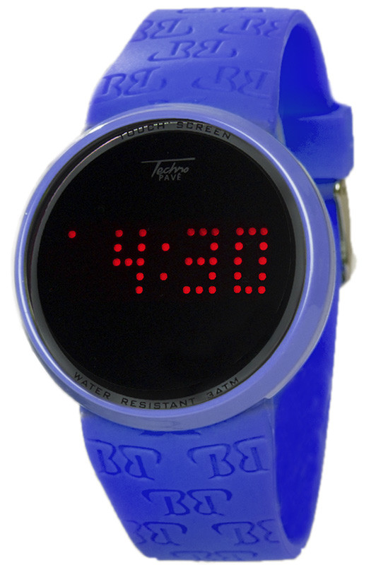 touch screen digital in blue techno pave touch