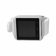 Touch Screen White Smart Watch