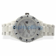 White Plastic Submariner Date Fashion Watch