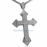 XL Dagger Bling Bling Cross