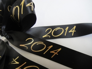 "2014 Satin 7/8"" Ribbon - click to enlarge"