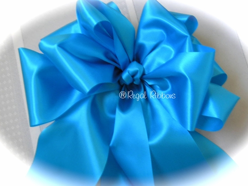 "4"" Wide Satin Ribbon - For extra large bows - click to enlarge"