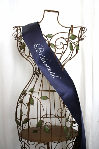 Bridesmaid Sash - Elegance - click to enlarge