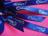 Cheers Ribbon 5/8""