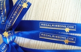 Custom Logo Ribbon 5/8""