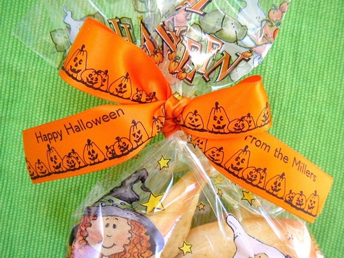 Halloween Favor Ribbon - click to enlarge