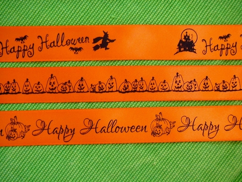 Halloween Ribbon - 10 yard roll - click to enlarge