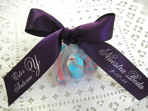 Nuestra Boda Favor Ribbon - click to enlarge
