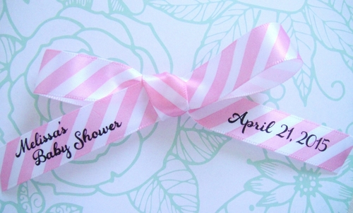 Pastel Stripe Favor Ribbon - click to enlarge