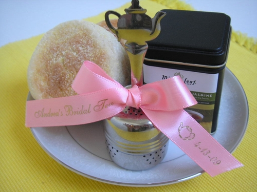 Teapot Favor Ribbon - click to enlarge