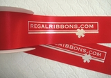 "Wide Logo Ribbon 2.5"" x 100 yards"
