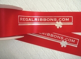 "2.5"" Wide Logo Ribbon - 100 yards"