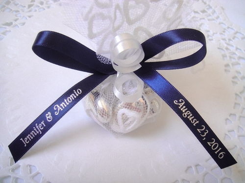 Woven Edge Luxury Satin Favor Ribbons - click to enlarge