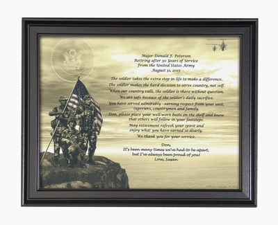 Army Retirement Poems