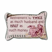Retirement Gift Pillow