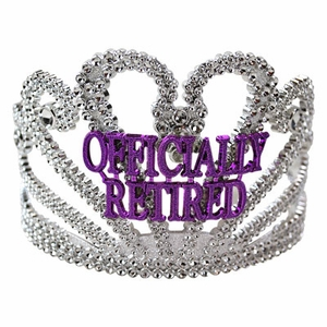 Retirement Tiara Crown