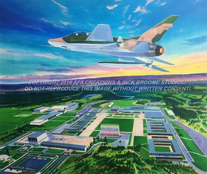 """USAFA 2017 Official Class Painting: """"A New Day"""": Last Chance!"""