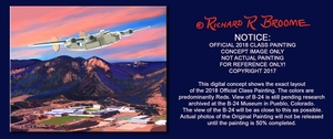 USAFA 2018 Official Class Painting: DEPOSIT ONLY: Prices start at $125.00