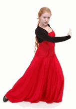 ADULT M - BOLERO FLAMENCO DRESS (SP BT RE DRESS 14)