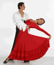 "ADULT M - ""FIESTA"" FLAMENCO DRESS BY BAL TOGS (SP BT 9120)"