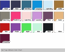 Bal Togs Silkteck Color Chart