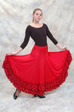 Flamenco Skirt: Polka Dot Ruffle (BT 9100 PDR BASIC )