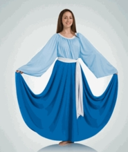 IN STOCK SPECIAL PRICE -  Polyester Circle Skirt by Bodywrappers (BW 502/0502 IN)