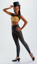 Rolldown Waist Leggings: Picture This (MM 7018 PT)