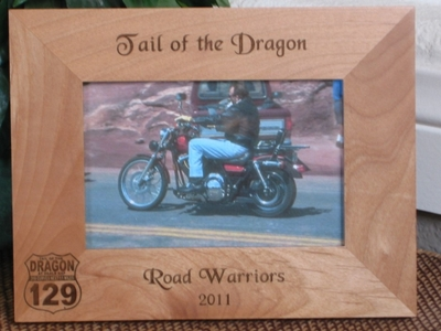 Deals Gap Picture Frame - Personalized Frame - Laser Engraved Deals Gap Sign