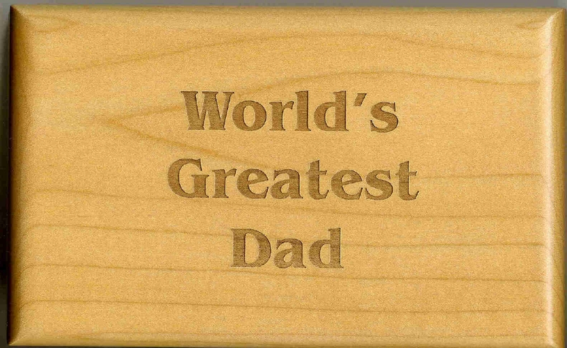 Father's Day Gift Box - Engrave Anything - Unique Gift for Dad