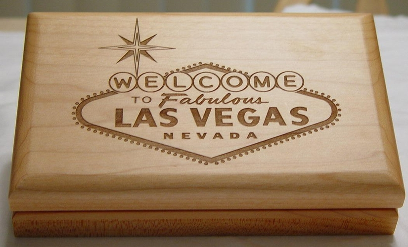 Las Vegas Gift Box - Jewelry Keepsake Box