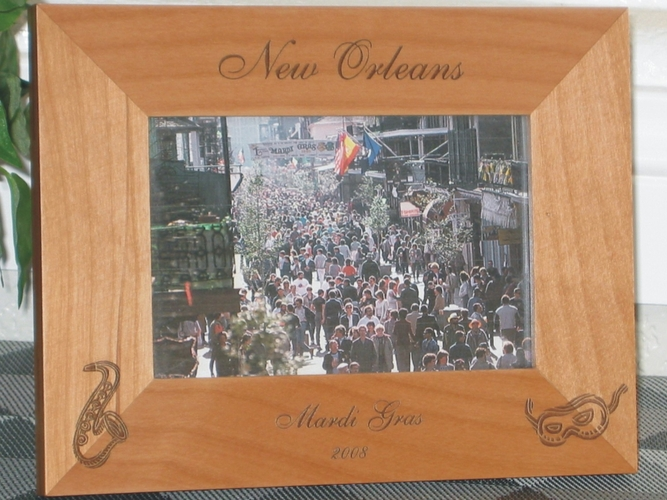 Louisiana - New Orleans Picture Frames