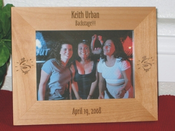 Priceless Picture Frame - Personalized Frame - Laser Engraved Dollar Signs