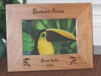 South America Picture Frames